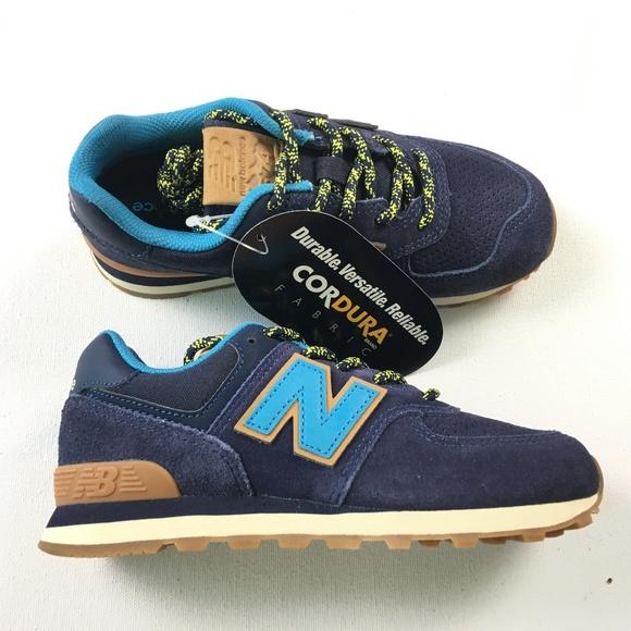 new concept 9bb0a cf7eb New Balance Big Kids Youth Shoes PC574 TI 574 Sz 1 NWT